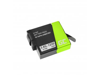 Baterie pro GoPro HD HERO5 HERO6 HERO7 Black AHDBT-501 AABAT-001 3.85V 1220mAh
