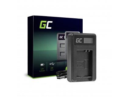 Nabíječka CB-2LCE pro Canon NB-10L PowerShot G15, G16, G1X, G3X, SX40 HS, SX40HS, SX50 HS, SX60 HS