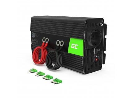 ® Voltage Auto Inverter 24V to 230V, 1000W Full Sine Wave