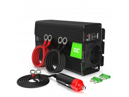 ® Voltage Auto Inverter 24V to 230V, 500W Full Sine Wave