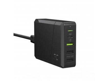 Power Source 75W 4-port charger USB-C PD s ultrabook nabíjení a Ultra Charge technology