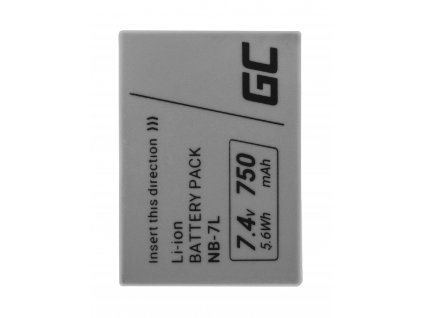 Baterie pro Canon PowerShot G10, G11, G12, SX30 IS NB-7L NB7L 7.4V 750mAh