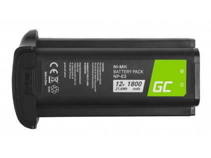 Baterie pro Canon EOS-1D Mark II, Canon EOS-1Ds Mark II NP-E3 NPE3 12V 1800mAh