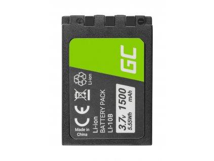 Baterie  ® Li-10B  LI-10B do Olympus Stylus 300, µ 800,Camedia X-2 3.7V 1500mAh