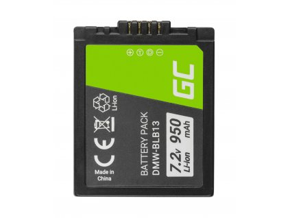 Baterie  ® DMW-BLB13 DMWBLB13 do Panasonic Lumix DMC-G1 7.2V 950mAh