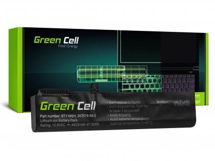 notebook Baterie  BTY-M6H pro MSI GE62 GE63 GE72 GE73 GE75 GL62 GL63 GL73 GL65 GL72 GP62 GP63 GP72 GP73 GV62 GV72 PE60 P