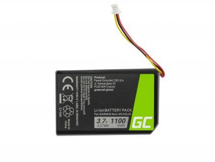 Baterie ® 361-00056-01 pro GPS Garmin Nuvi 55 55LM 56 65 65LM 66 66LM