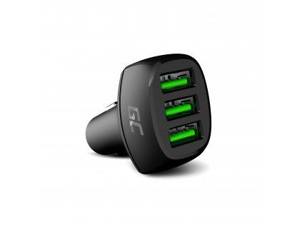 In-Auto Nabíječka GC PowerRide 54W 3xUSB 18W s Ultra Charge technology