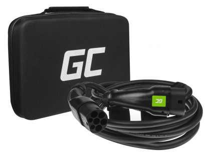 GCev¹ Cable Type 2 pro charging electric cars (7m, 11kW, 16A, 3-phase)