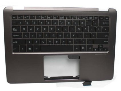 laptop Palmrest Top Case With US Layout Keyboard for Asus UX360C 13NB0BA2AP0201.jpg 640x640q70
