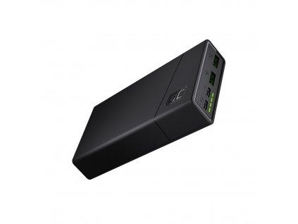 Power Bank  GC PowerPlay20 20000mAh s rychlé nabíjení 2x USB Ultra Charge a 2x USB-C nabíjecí kabel 18W