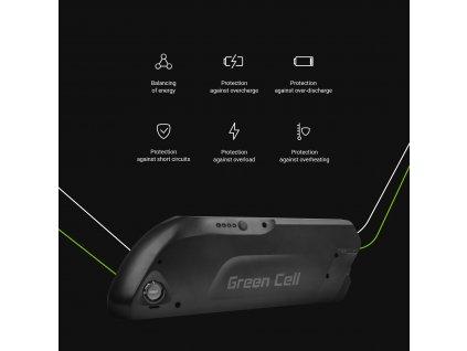 ® E-Bike Baterie 36V 13Ah Electric Bicycle Li-Ion  s Nabíječka