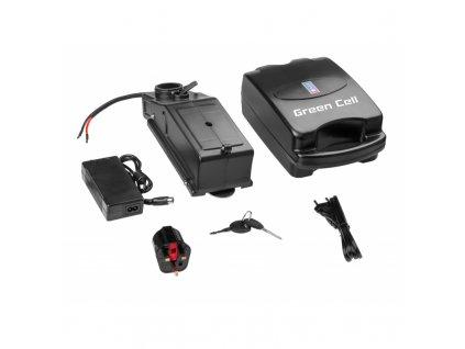 ® E-Bike Baterie 36V 12Ah Li-Ion Frog-Type s Nabíječka