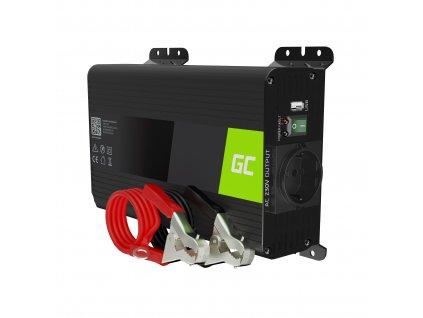 Měnič napětí 12V/230V, 300W/600W