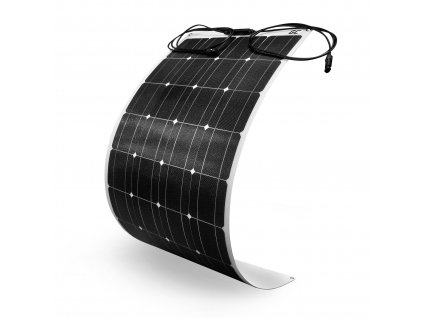 Solární panel monokrystalický 100W / 12V 18V / ETFE / MC4