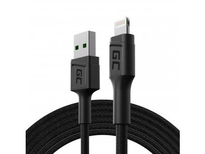 Kabel USB-A - Lightning 200cm, rychlé nabíjení -  Apple 2.4A