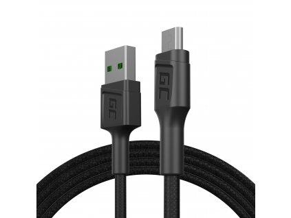 Kabel USB-A - Micro USB 120cm, rychlé nabíjení Ultra Charge, QC 3.0