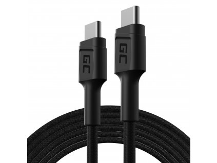 Nabíjecí kabel USB-C - USB-C 200cm (60W), 480 Mb/s, Ultra Charge, QC 3.0