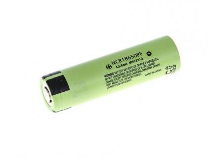 Panasonic články 2900mAh 18650 NCR18650PF Li-Ion