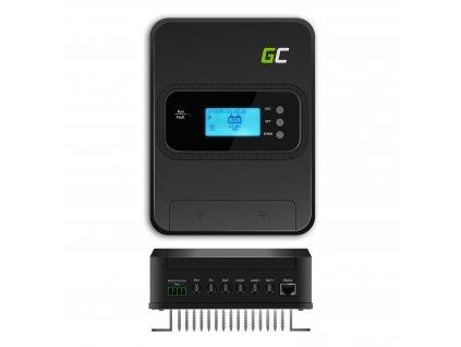 Solar controler / nabíjení regulator MPPT 30A pro system 12V/24V/36V/48V - PV 145V (VOC)