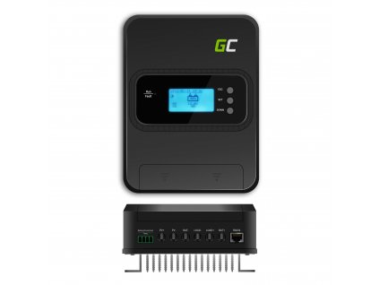 Solární regulátor nabíjení MPPT 30A pro systém 12V/24V/36V/48V - PV 145V (VOC)