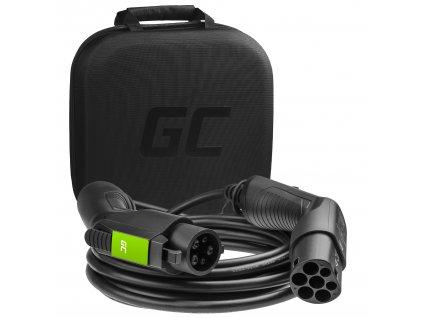 Cable  GC EV Type 1 7.2kW 32A 5m pro nabíjení elektromobilu EV