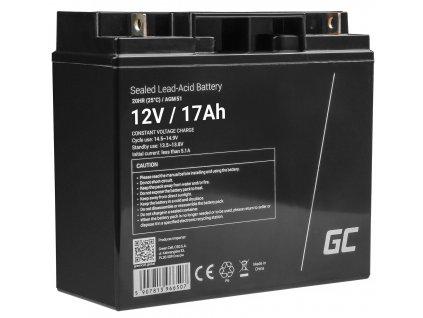 Baterie 12V 17Ah AGM