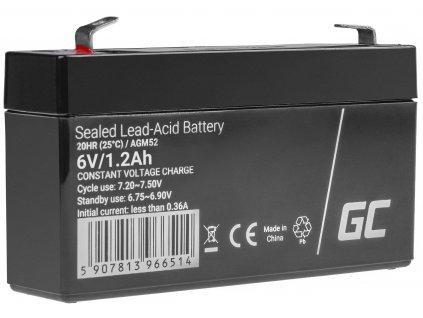 Baterie 6V 1.2Ah AGM