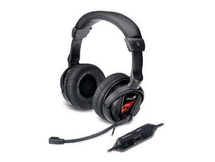 GENIUS headset HS-G500V Gaming sluchátka s vibracemi