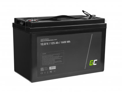 Baterie 125Ah 12.8V 1600Wh LiFePO4