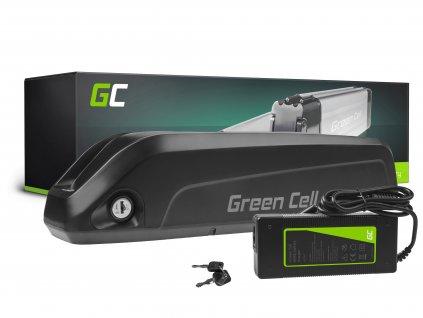 Baterie 36V 10.4Ah 374Wh pro E-Bike, elektrokolo, Down Tube
