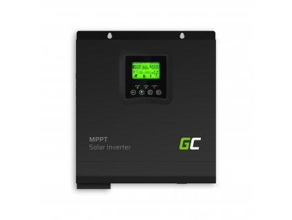 Solární UPS měnič napětí s MPPT, solární nabíječka 24V/230V 3000VA/3000W - čistá sinusoida