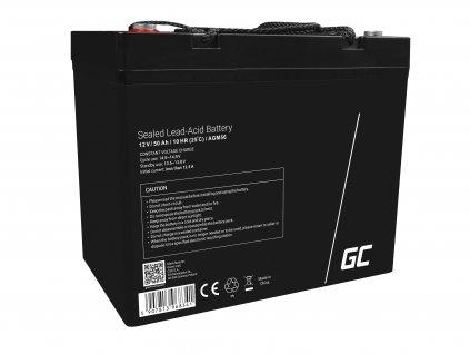 Baterie 12V 50Ah AGM