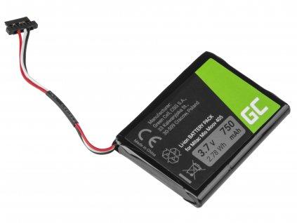 GPS baterie Moov 500 510 560 580 N210, Li-Ion 750mAh 3.7V