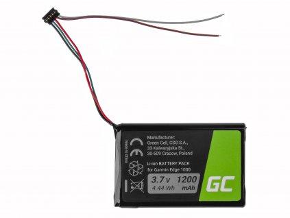 ® Baterie  pro Garmin Edge 1000 Garmin 010-01161-00, Li-Ion 1200mAh 3.7V