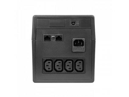 ® UPS UPS Uninterruptible Power Supply 1000VA 600W s LCD Display