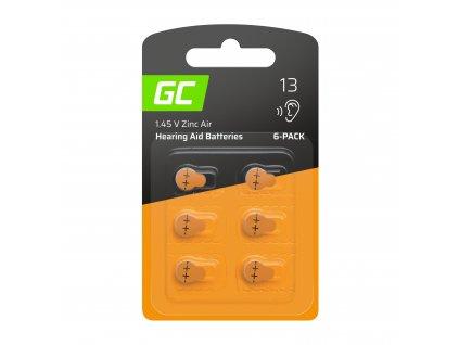 6x Baterie  pro hearing aid Type 13 P13 PR48 ZL2 ZincAir