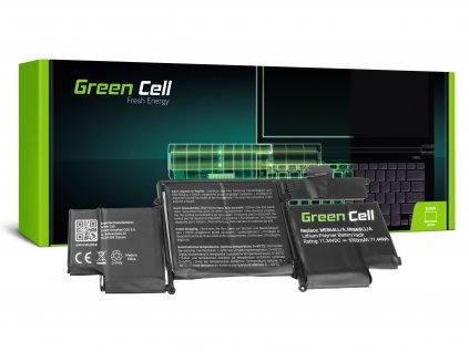 Baterie pro Apple Macbook Pro 13 A1502 (Late 2013, Mid 2014) / 11,34V 6300mAh