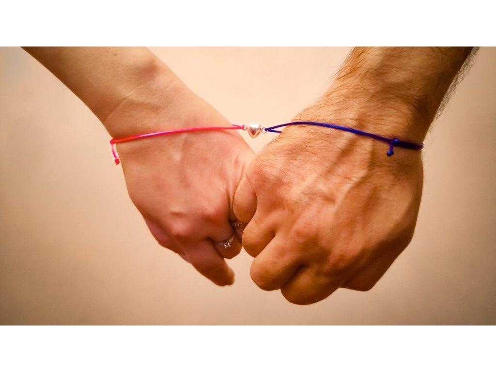 Magnetické partnerské náramky - TOGETHER FOREVER