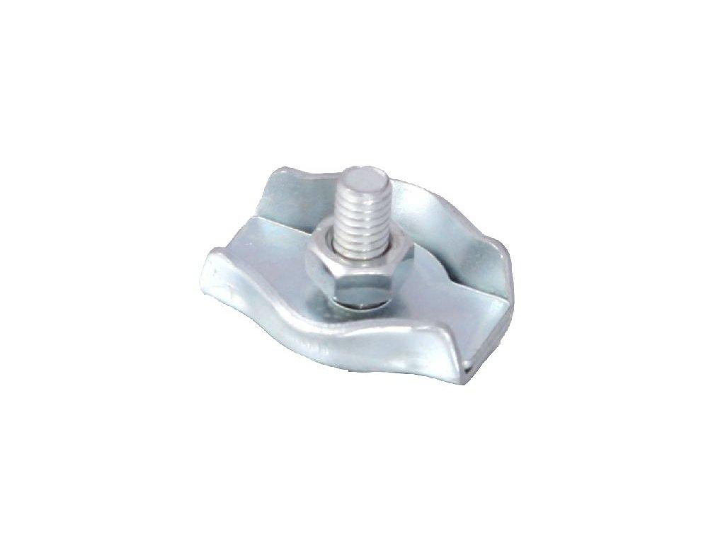 Svorka simplex 4mm Zn