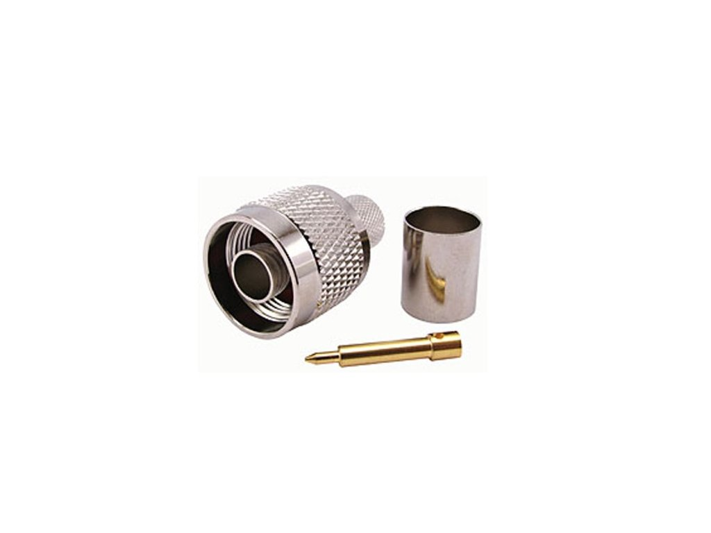 N konektor 10 mm krimpovací Amphenol