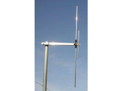 Dvoupásmový dipól 172+450MHz + PMR