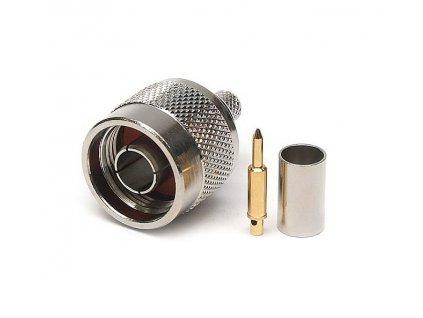 N konektor 6mm H-155 krimpovací