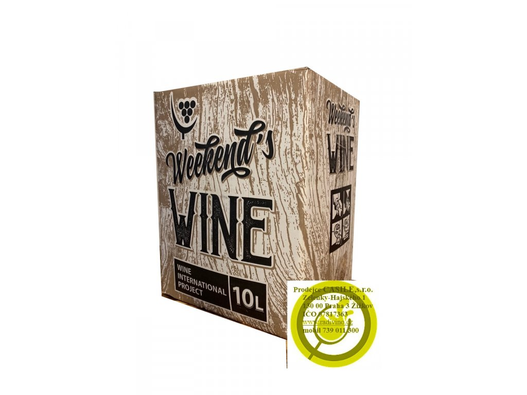 Chardonnay (10 litrů)