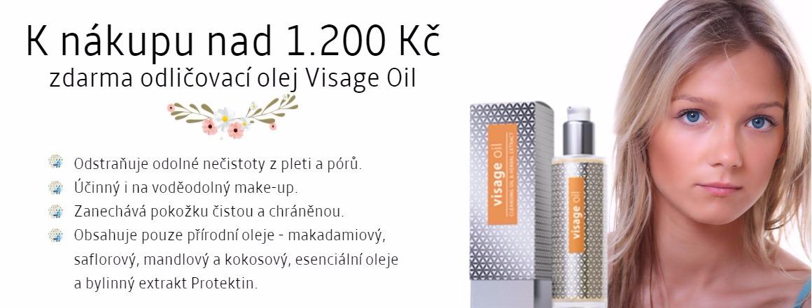 Visage oil zdarma k nákupu nad 1.200 Kč