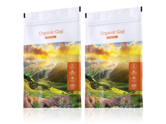 Organic Goji powder akční sety