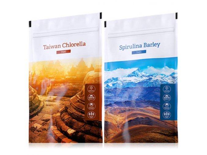 organic chlorella tabs spirulina barley tabs