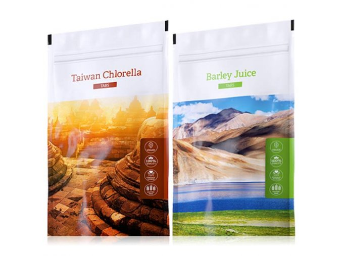 organic chlorella tabs barley juice tabs