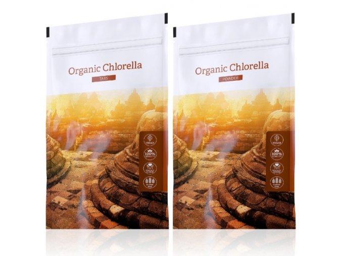 organic chlorella tabs powder