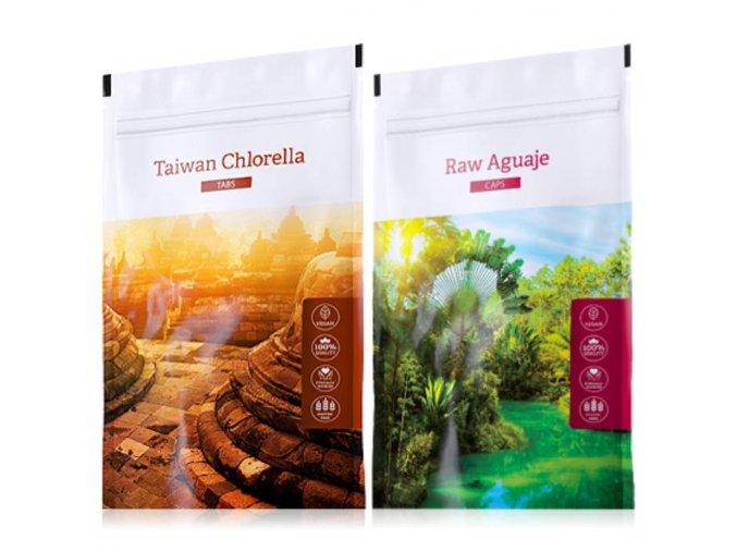 organic chlorella tabs raw aguaje